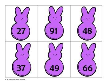Ordering Numbers: Easter Peeps