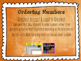 Ordering Numbers Fall Theme
