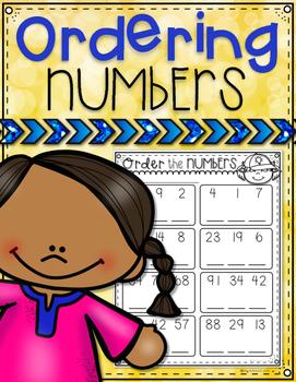 Ordering Numbers Freebie