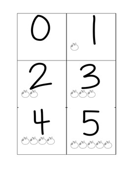 Ordering Numbers Game /  Number Cards