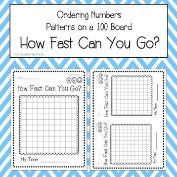 Ordering Numbers - How Fast Can You Go?