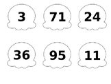 Ordering Numbers: Ice Cream Scoops