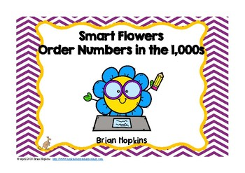 Ordering Numbers In The Thousands Flowers