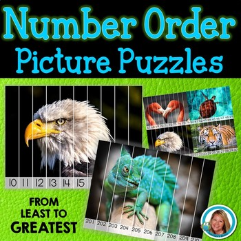 Ordering Numbers Least to Greatest Activities