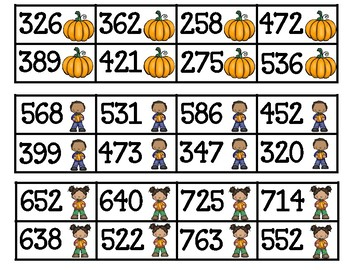 Ordering Numbers Least to Greatest, Greatest to Least Tens & Hundreds Math Unit