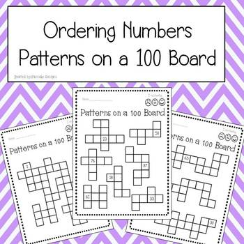 Ordering Numbers - Patterns on a 100 Board