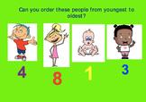 Ordering Numbers: People Who Help Us Theme