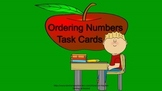 Ordering Numbers Task Cards/ Worksheets for Math Center
