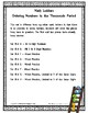 Ordering Numbers -  Thousands Period -  Set 15.4 {Math Ladders}