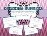 Ordering Numbers {cut & paste number lines}