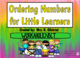 Ordering Numbers for Young Learners - Counting SMART Notebook Lesson
