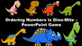 Ordering Numbers is Dino-Mite - PowerPoint Game