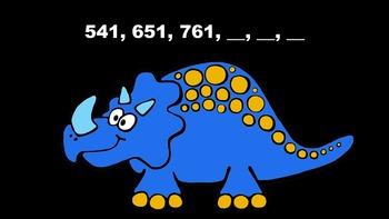 Ordering Numbers is Dino-Mite - PowerPoint Game