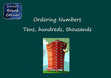 Ordering Numbers (tens, hundreds, thousands) SMART Board Lesson
