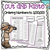 Compare and order numbers to million teaching resources teachers ordering numbers to 1000000 one million cut and paste math worksheets ibookread PDF