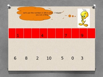 Ordering Numbers with Tweety Bird
