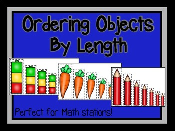 Ordering Objects By Length-Math Station