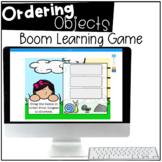 Ordering Objects / Measurement - BOOM CARDS™ - Distance Learning
