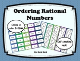 Ordering Rational Numbers