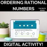 Ordering Rational Numbers Digital Activity (Printable Vers