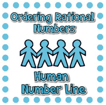 Ordering Rational Numbers - Human Number Line! - Active Math