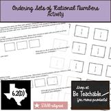 Ordering Rational Numbers Using Strategies (6.2D)