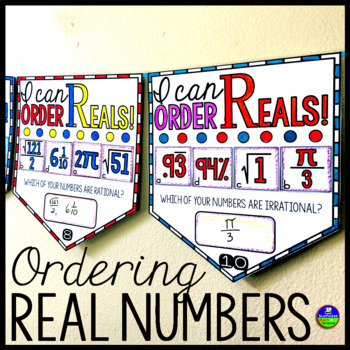 Ordering Rational and Irrational Real Numbers Pennant