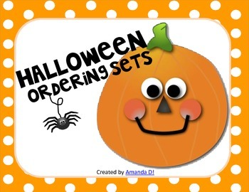 Ordering Sets: Halloween