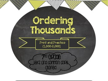 Ordering Thousands