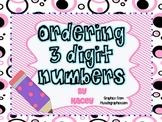 Ordering Three Digit Numbers