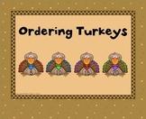 Ordering Turkeys