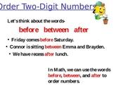 Ordering Two-Digit Numbers