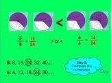 Ordering Unlike Fractions PowerPoint by Kelly Katz