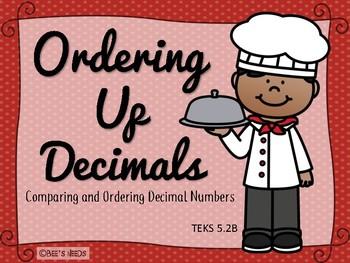 Ordering Up Decimals