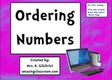 Ordering Whole Numbers SMART Notebook Practice Lesson