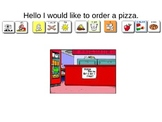 Ordering a Pizza Scripted Conversation