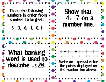 Ordering and Absolute Value with Integers
