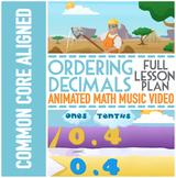 ORDERING DECIMALS Activities: Comparing Decimals Worksheet