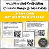 Ordering and Comparing Rational Numbers Task Cards with QR codes
