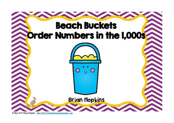 Ordering in the Thousands Beach Buckets