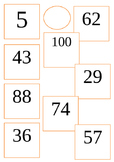 Ordering number up to 100 Activity