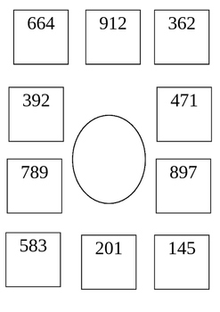 Ordering number up to 1000 Activity