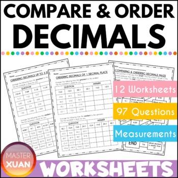 Ordering of Decimals
