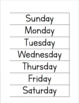 Ordering the days of the week & months of the year
