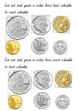 Ordering Austrlian Coins