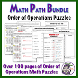 Orders of Operations MATH Path Super Saver Bundle