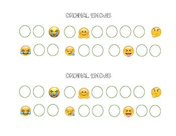 Ordinal Emojis