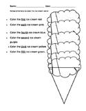 Ordinal Ice Cream Cone