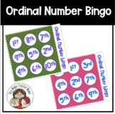 Ordinal Number Bingo