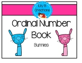 Ordinal Number Book - Bunnies
